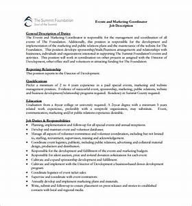 event coordinator job description pdf bepatient221017com With events manager job description template