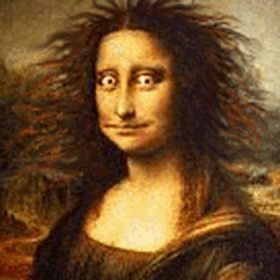 mona lisa  funny  scary images collection  find