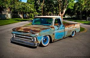 Buy Used 65 C10  Rat Rod Truck Bagged  Air Ride  Surfer