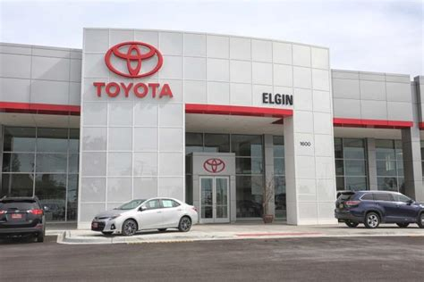 toyota main dealer elgin toyota toyota service center dealership ratings