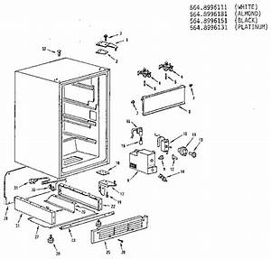 Dwyer Products Compact Refrigerator Door Parts