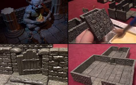 3d dungeon tiles dwarven forge new kickstarter promises affordable new d d tiles