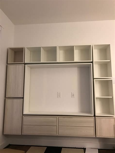 valje entertainment center ikea hackers