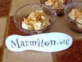 dessert rapide au mascarpone recette de dessert rapide au mascarpone marmiton