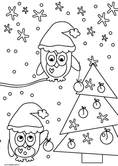 Tafelkleed Kleurplaat Kerst by Kleurplaten