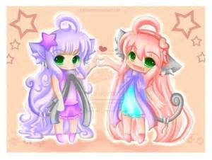 Cute Best Friends Drawings 2