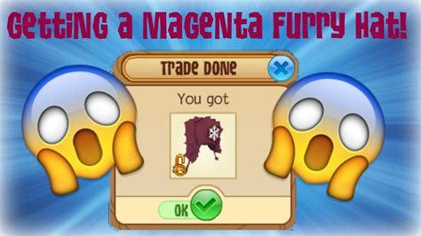 animal jam   magenta furry hat youtube