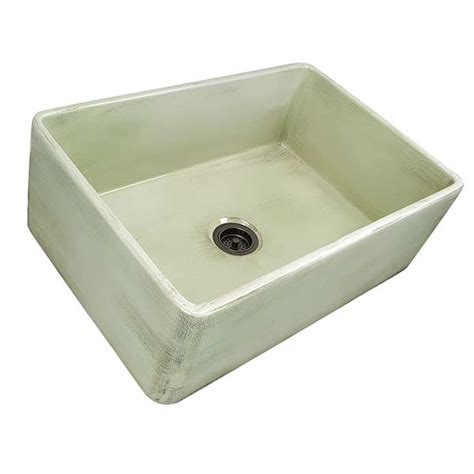 green kitchen sink durable fireclay kitchen sinks by nantucket 1433