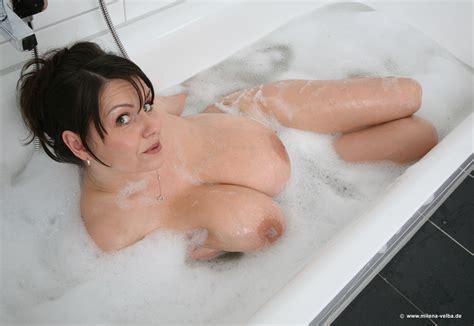 Milena Velba Bath Cumception
