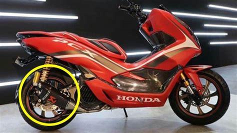 Versi Modifikasi Resmi Honda Pcx Ternyata Gunakan Knalpot
