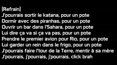 bigflo oli pour un pote paroles