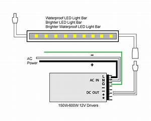 Led Light Bar Wiring Instructions