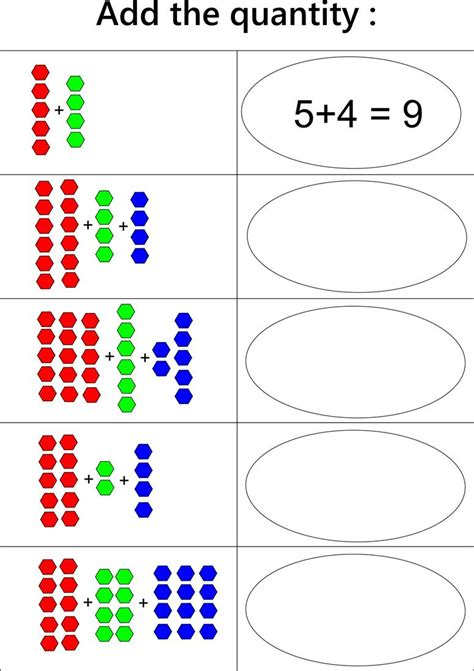 maths worksheets for kids age work sheets 4 preschool counting maths work sheets chapter 2
