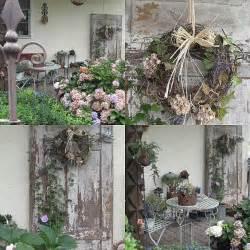 neue ideen fã r den garten alte tür wohnen und garten foto herbstdeko tuin dekoration und garten