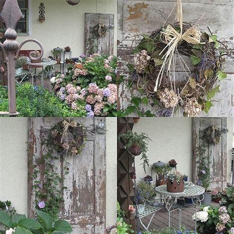 Alte Tür  Wohnen Und Garten Foto  Herbstdeko Pinterest