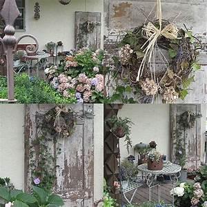 Garten Und Deko : alte t r wohnen und garten foto herbstdeko pinterest tuin dekoration und garten ~ Sanjose-hotels-ca.com Haus und Dekorationen