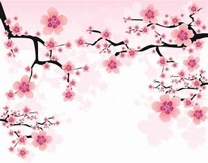 Japan Cherry Blossoms free vector 02 - Vector Flower free ...