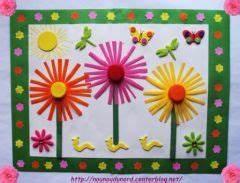 idees de bricolage facile pour assistantes maternelles With déco chambre bébé pas cher avec composer son bouquet de fleur