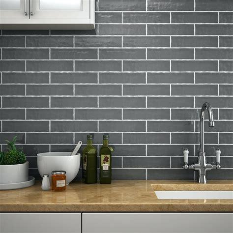 Tiles Grey Brick Kitchen Wall Tiles Kitchen Wall Tiles