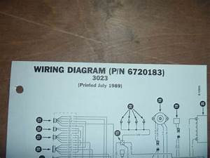 Bobcat 3023 Trencher Electrical Wiring Diagram Schematic