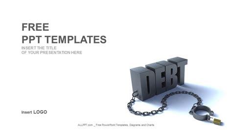 finance powerpoint template debt word finance powerpoint templates