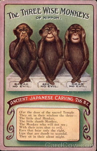 wise monkeys  nippon