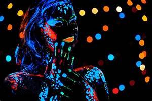 Maquillage Fluo Visage : le r veillon du jour de l 39 an fluo couleur de nuit ~ Farleysfitness.com Idées de Décoration