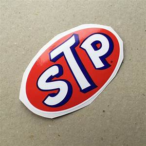 Vintage Sticker  U2013 Stp