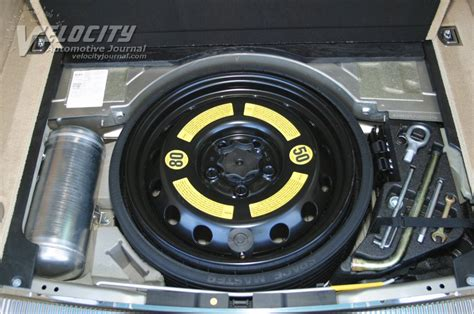 inflate  spare tire club touareg forums