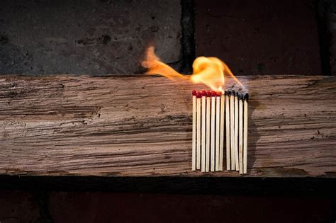 photo matches matchstick flammable  image