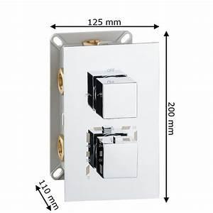 Mischbatterie Dusche Unterputz : unterputz drei wege mischbatterie wannenarmatur dusche thermostat armatur chrom sanlingo ~ Sanjose-hotels-ca.com Haus und Dekorationen