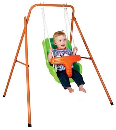 balancoire interieur pour bebe portique balan 231 oire en m 233 tal pour b 233 b 233 18 mois jeu dext 233 rieur