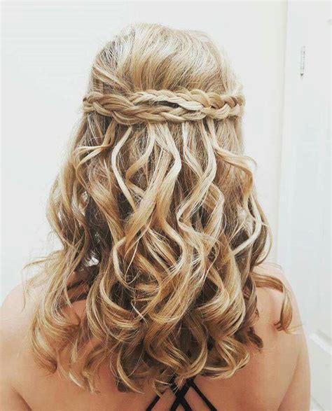 Ghd Curls Hairstyles by Ghd Curls And Braid Wedding Hair Ghd Hair Hair