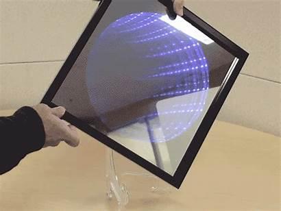 Mirror Infinity Kaleidoscope Arduino Hackster Project Illusion