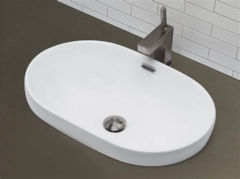 vessel sink with overflow white race track ceramic vessel sink with overflow