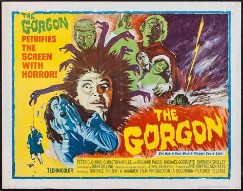 THE GORGON (1964) Original Vintage Hammer Horror US Half ...