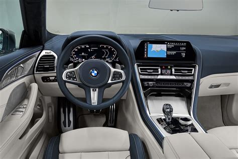 2019 bmw 8 series interior interior of the bmw 8 series gran coupe was leaked also