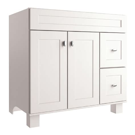 Shop Diamond Freshfit Palencia White Bathroom Vanity