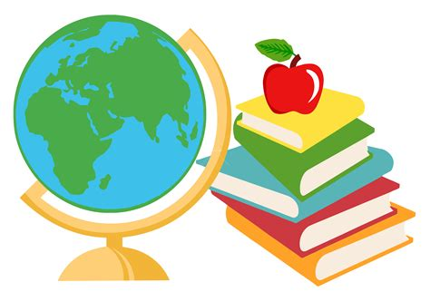 Classroom Books Cartoon » Clipart Station