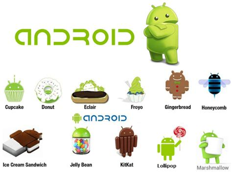 versions of android how is the android operating system named android portal