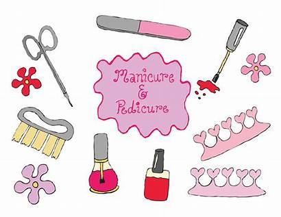Clipart Manicure Pedicure Nail Polish Transparent Beauty