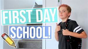 HAPPY FIRST DAY OF SCHOOL! - YouTube