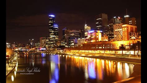 melbourne city  night youtube