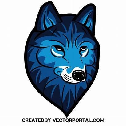 Wolf Graphics Vectorportal Clip Head Wolves Stencil
