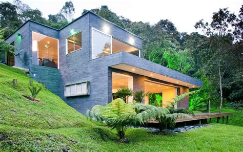 fresh houses on hillsides designs casa lago no c 233 u david ram 237 rez arquitectos archdaily