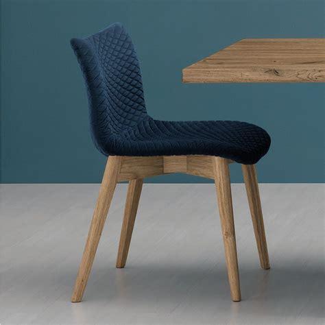 chaise en fenice l chaise domitalia en bois assise revêtue en