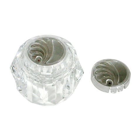 shower knobs home depot delta clear knob handle for 13 14 series shower faucets