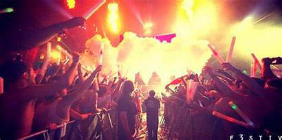 Party Rave Smoke Lights Crazy Gifs Swag