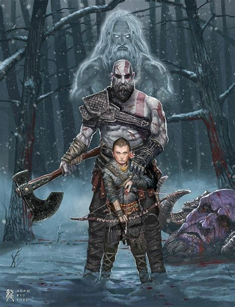 God Of War Artwork Latestgames God Of War Kratos God