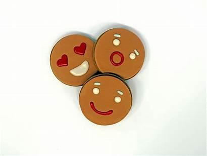 Gingerbread Ginger Blvd Cake Emoji Desserts Trummer